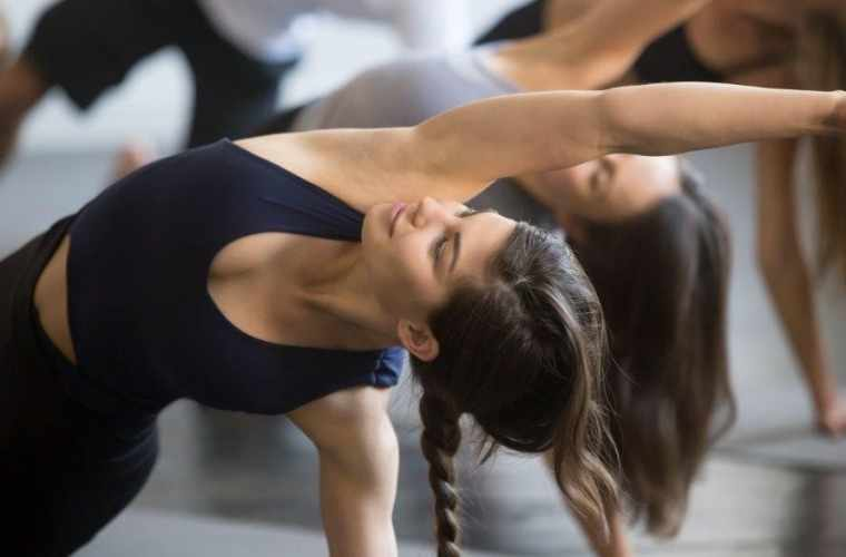 Pilates training -  beginners' class