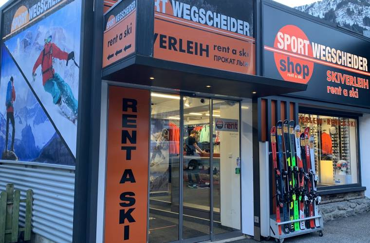 Sport Wegscheider - Rent a Ski