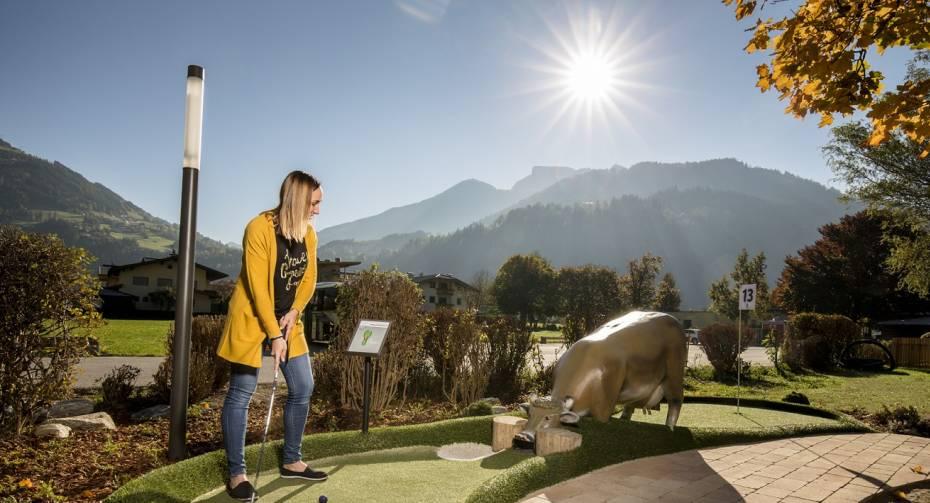 Abenteuer Minigolf - Freizeitpark Zell am Ziller
