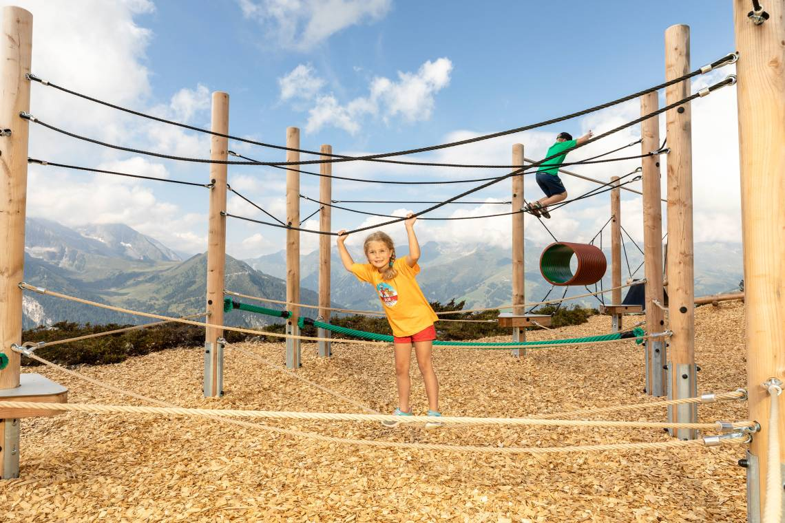 Playground Pepis Kinderland on Mount Penken