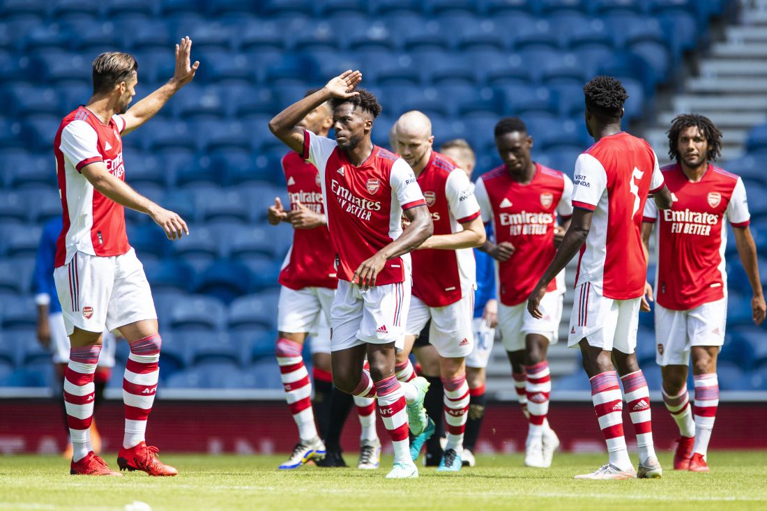 Report: All Square Against Arsenal At Ibrox | Rangers Football Club
