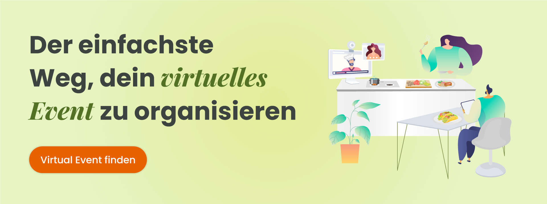 Virtual Event finden (Cooking)