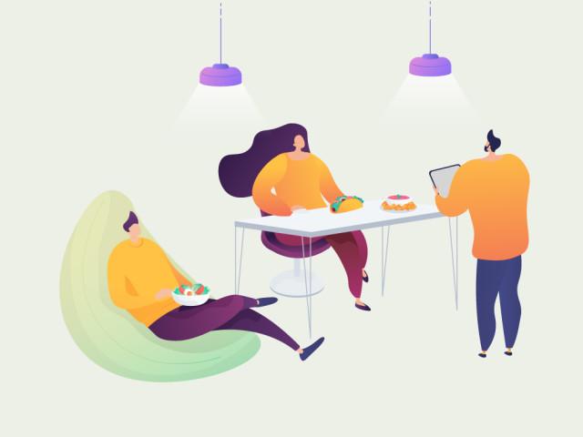 13 Tipps für die gesunde Mittagspause im Büro