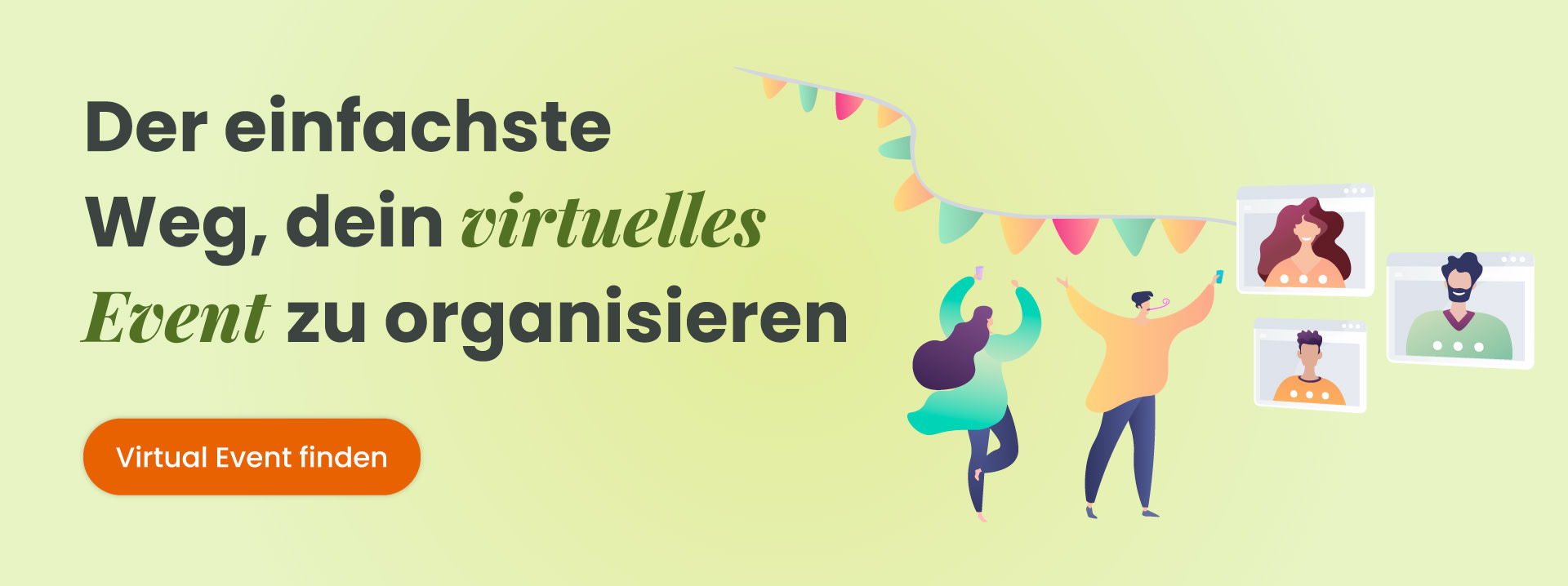 Virtual Event finden (Party)