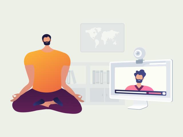 Business Yoga für Büro und Home Office