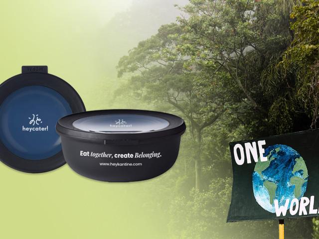 Unsere klimaneutralen Mehrweg-Bowls als nachhaltige Essensbehälter