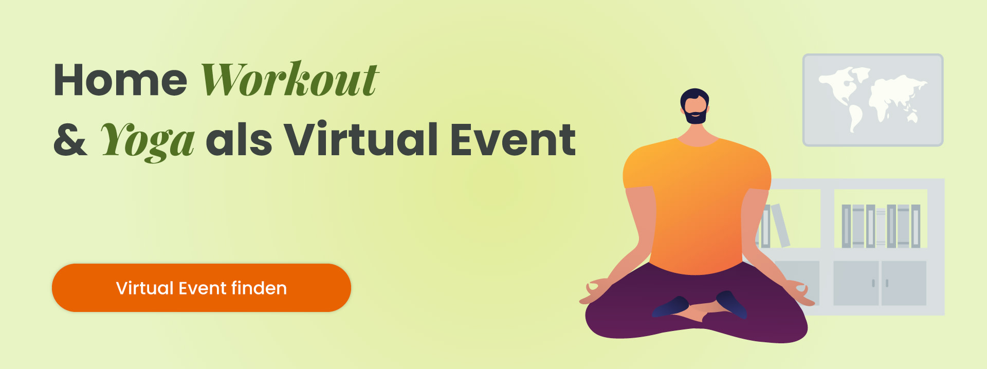 Home Workout & Yoga als Virtual Event