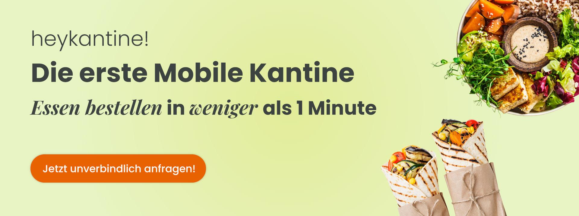 heykantine - Essen bestellen in weniger als 1 Minute