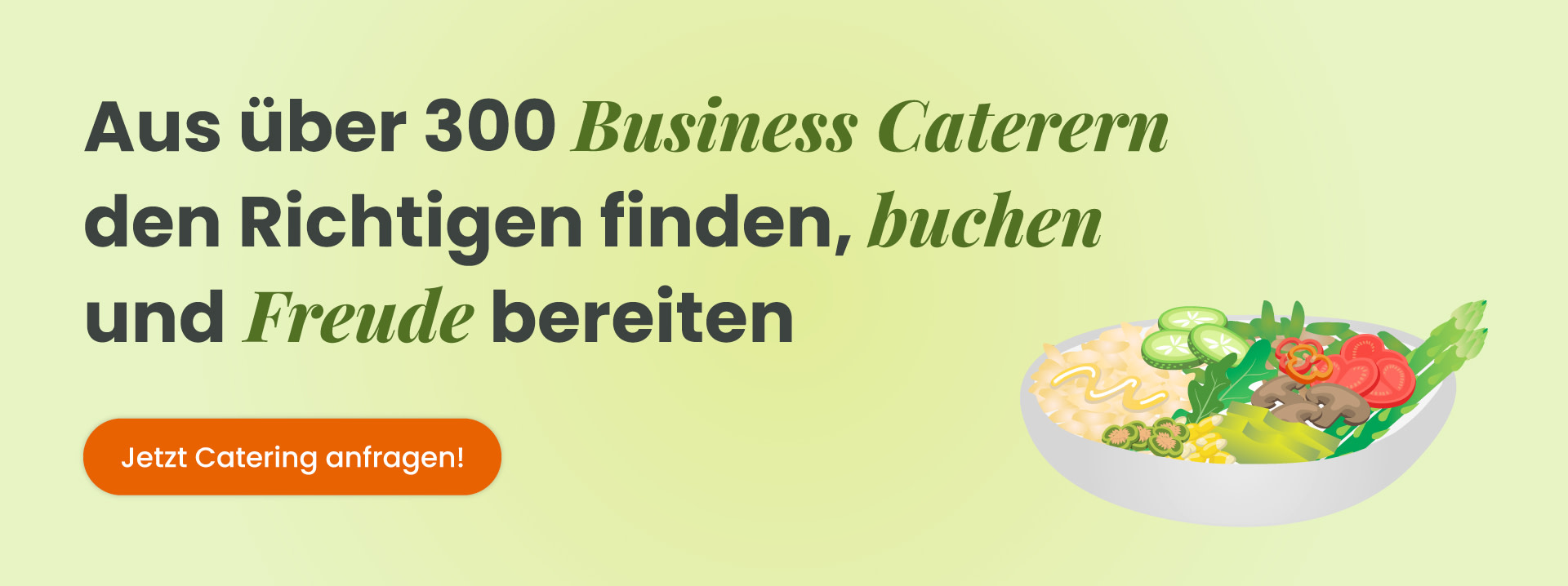 Business Catering anfragen