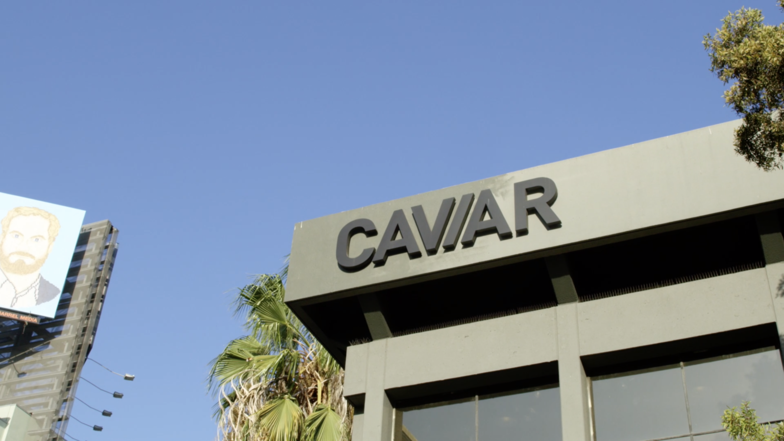 Caviar's office in Los Angeles.
