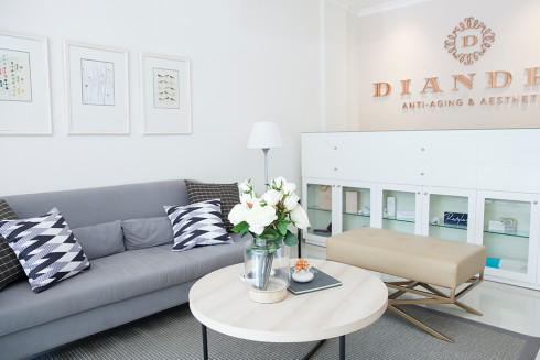 Diandra Anti-Aging & Aesthetic - Cozy Waiting Room