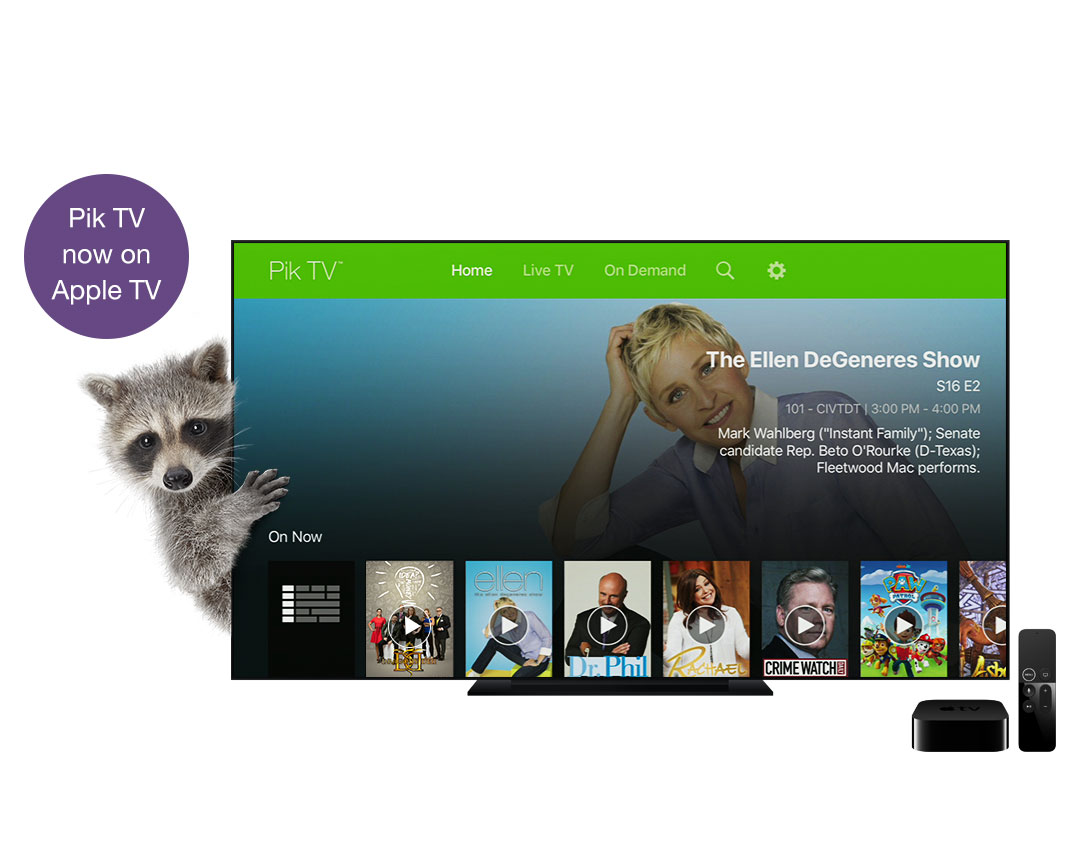 Watch Tv Series Amp Movies On The Go Or On Your Tv Pik Tv