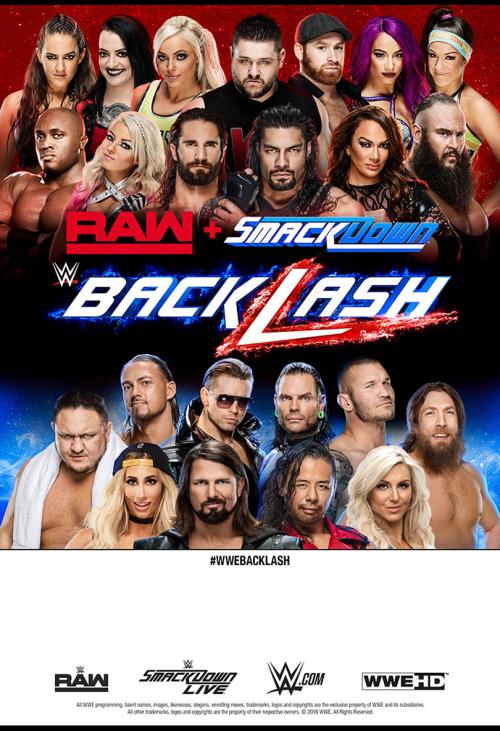 TV - WWE Backlash 2018 - Pay Per View | TELUS com