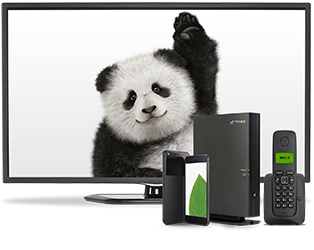 Telus devices with panda.