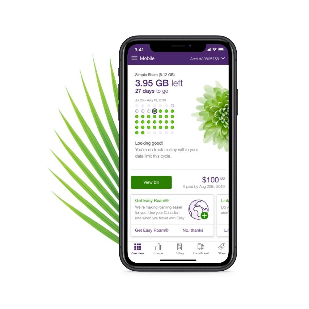 Manage your account with My TELUS | TELUS