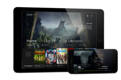 Optik TV Apps - Netflix, Stingray Music, YouTube & More | TELUS