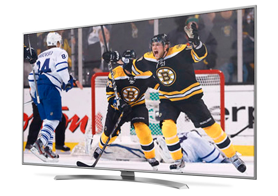 Boston Bruins hockey on Optik TV