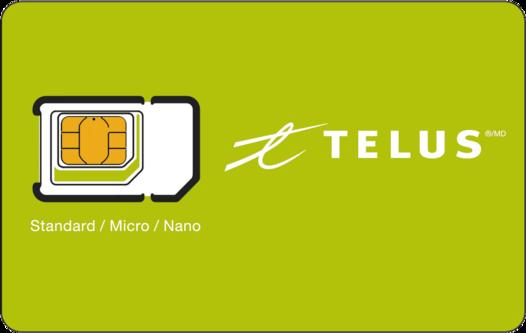 SIM Cards | Smartphones | Mobility | TELUS com