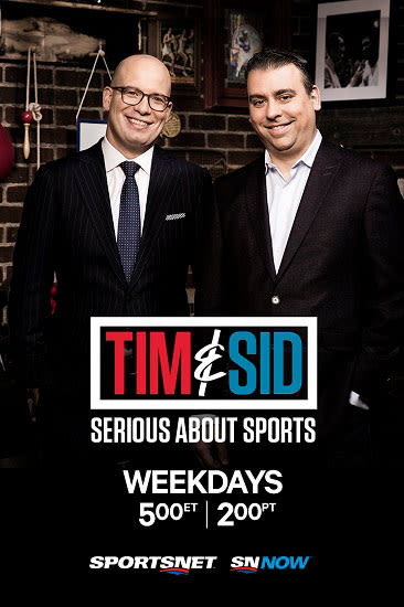 Tim and Sid TV Poster
