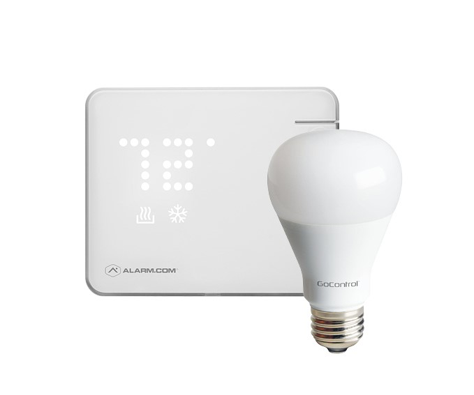 Smart Thermostat & Smart Light