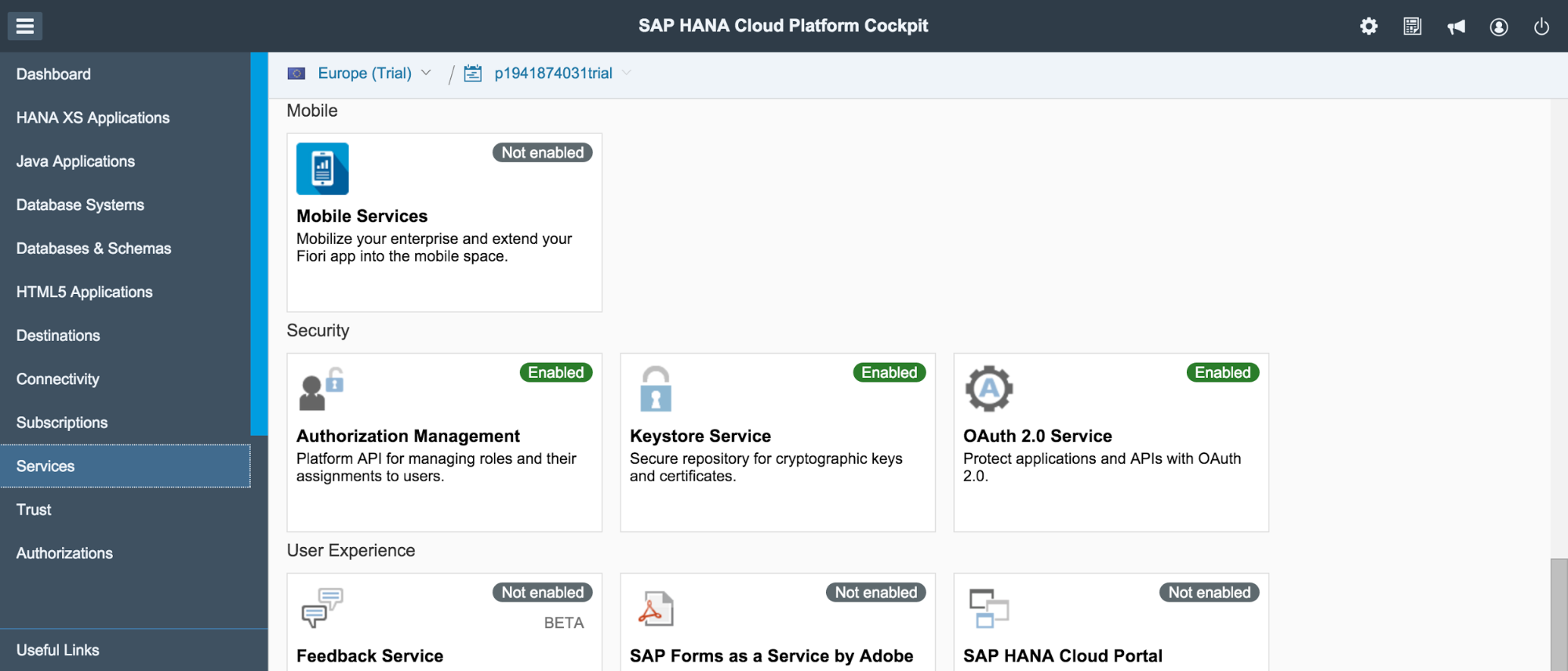 Creating a Mobile App in Hana Cloud Platform Mobile Services