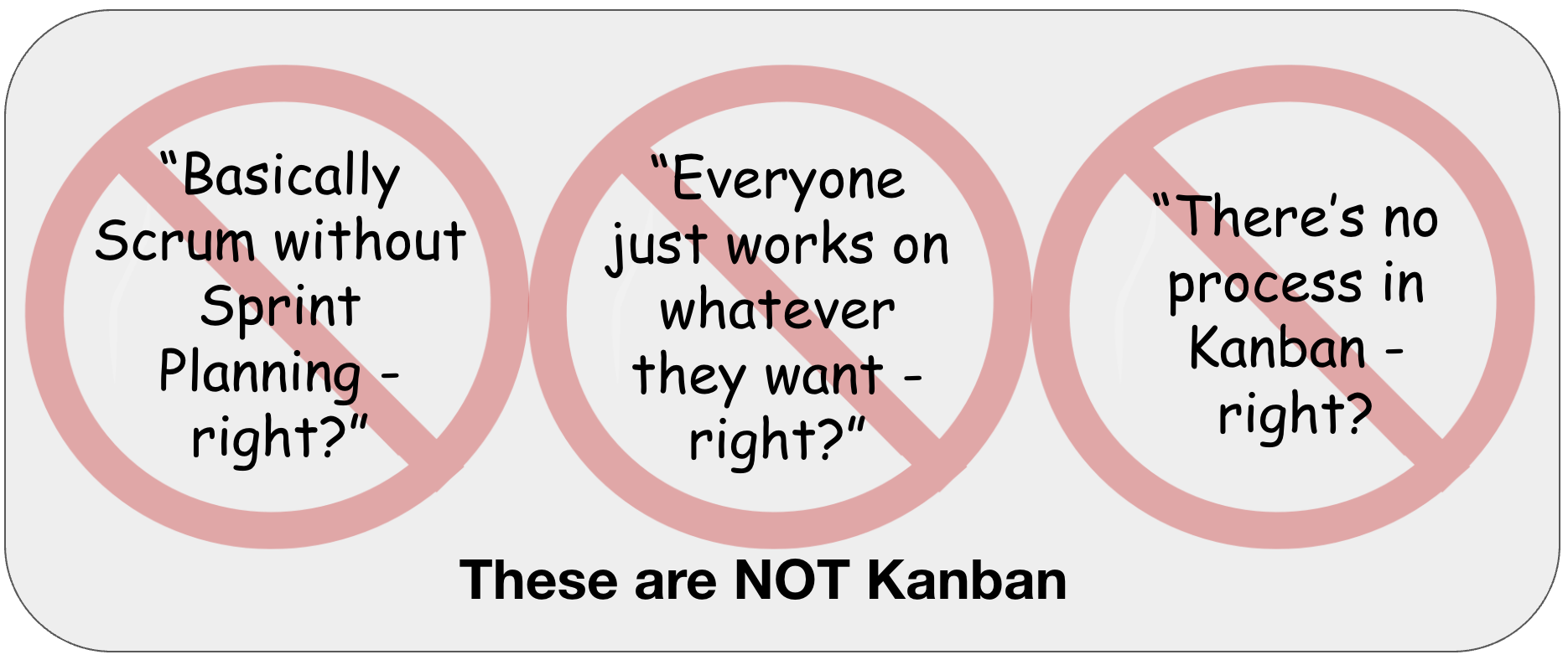 These are NOT Kanban