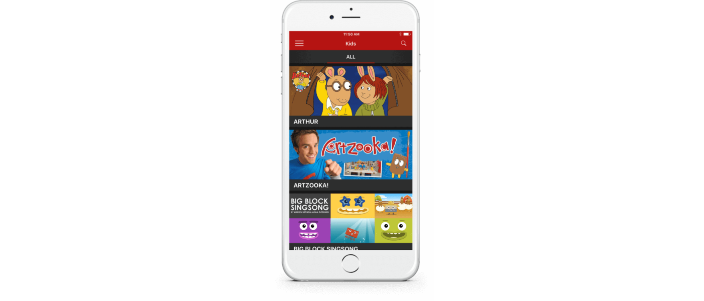 CBC TV App for iPhone, iPad, Android, and Web | WillowTree