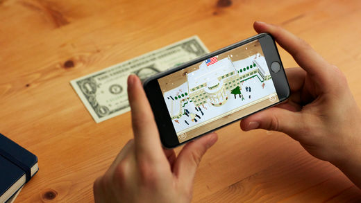 Dollar Bill White House app screenshot