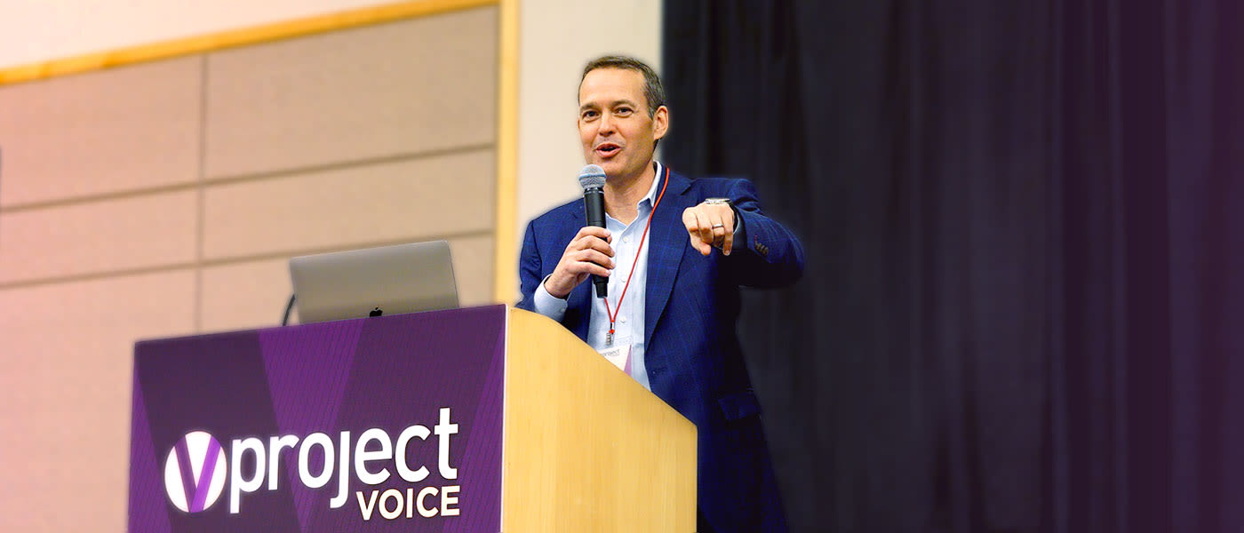 TD at Project Voice 2