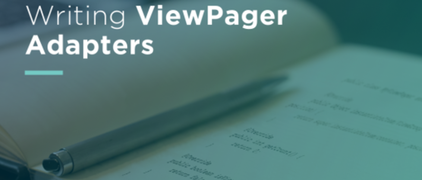 Android Development: Writing a ViewPagerAdapter for Views