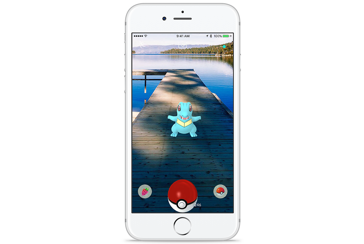 Pokemon Go Screenshot iOS