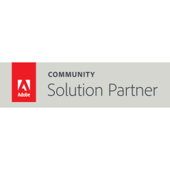 Adobe Solution Partner Program Badge