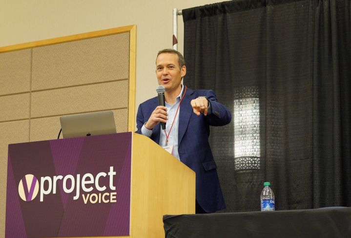 Tobias at Project Voice