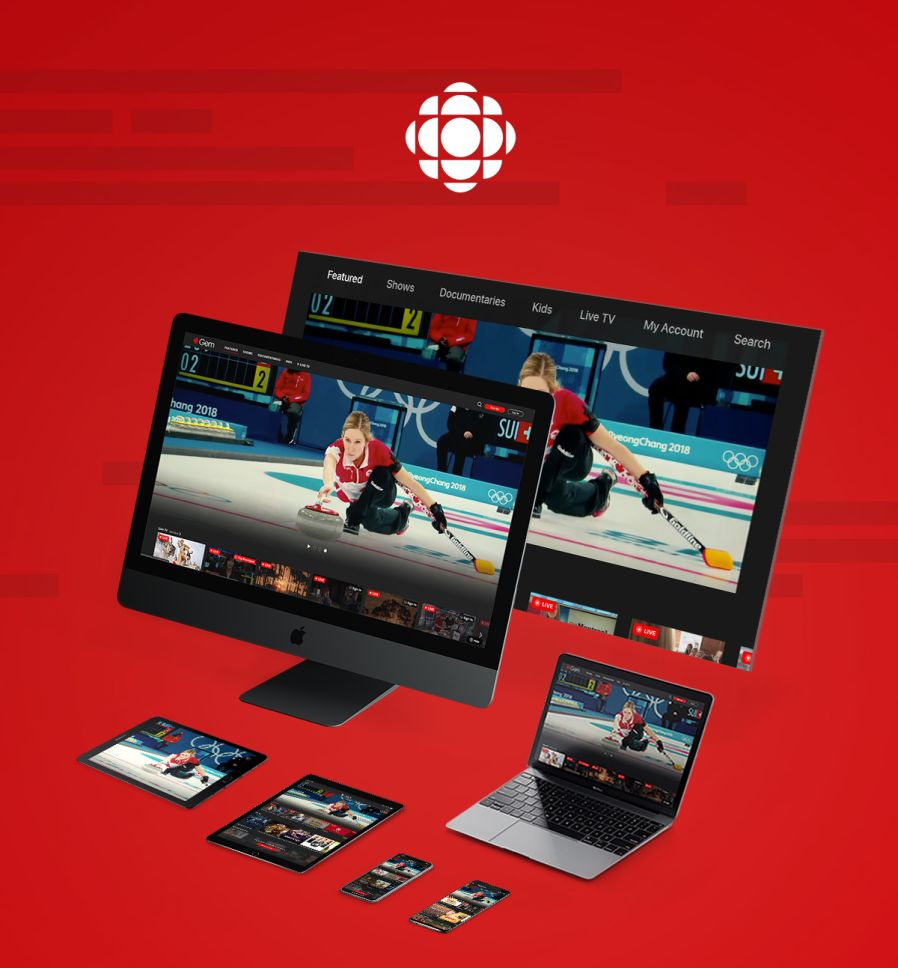 CBC partnered with WillowTree to create a solution to seamlessly broadcast programming across a full spectrum of digital platforms, allowing consumers to access their favorite news and entertainment via any desired screen type.