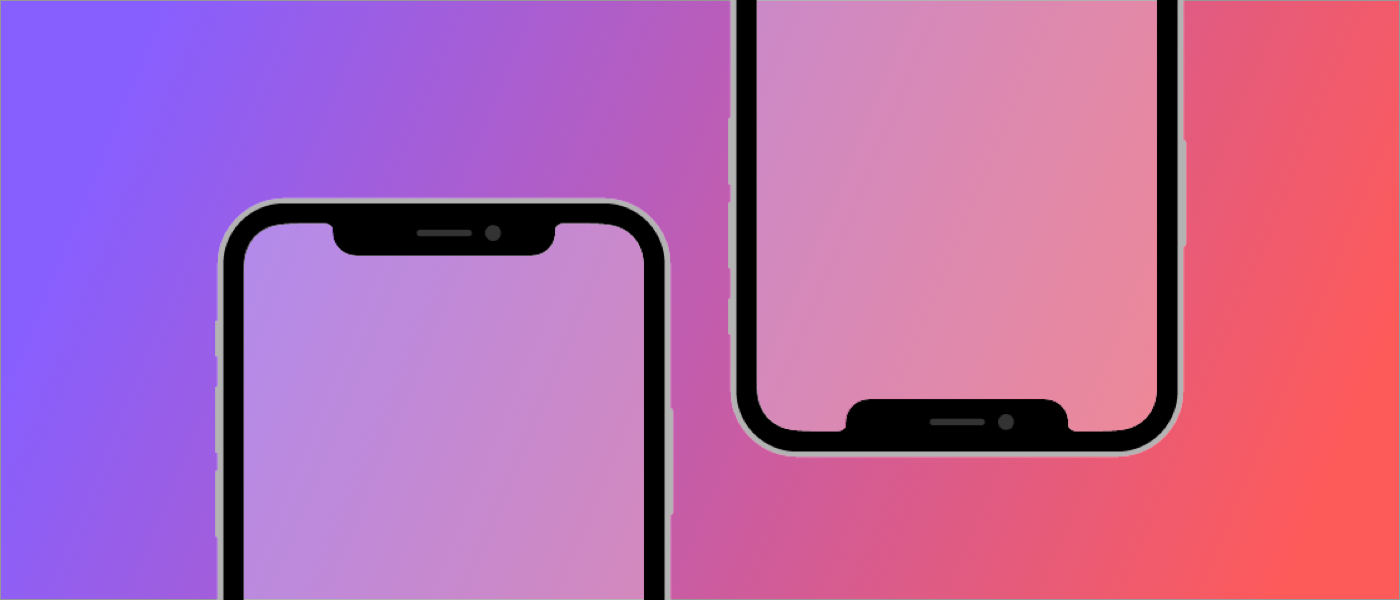 How To Design For The Notch In The Iphone X 10 Screen