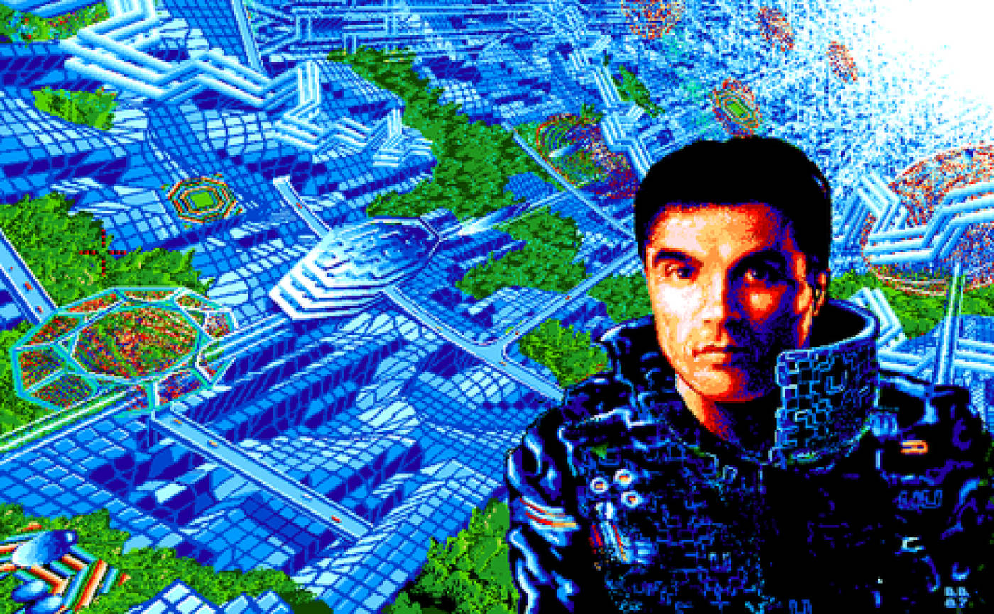 image from unrealized Neuromancer videogame