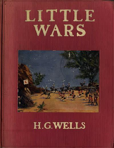 little wars book front cover