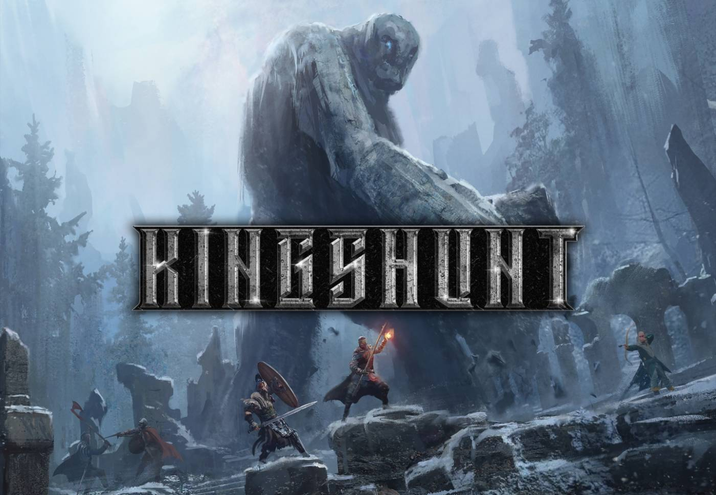 Kingshunt game art