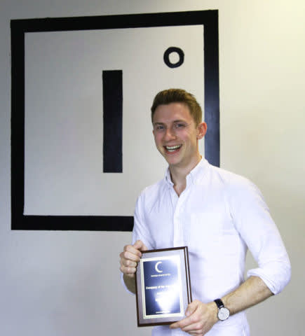 Rob Whitehead - Accepting Company of the Year 2017