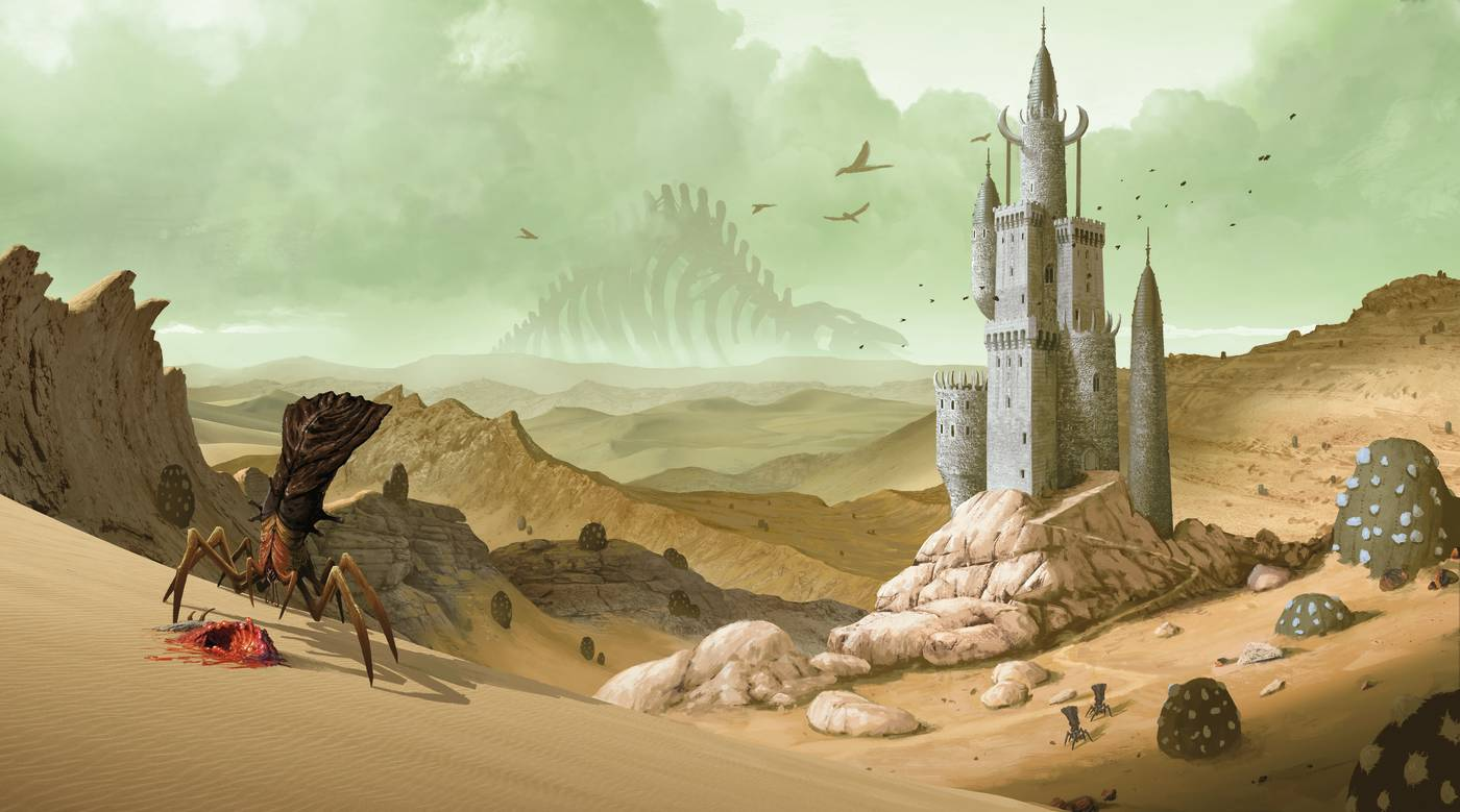 Wizard's Wrath - desert castle
