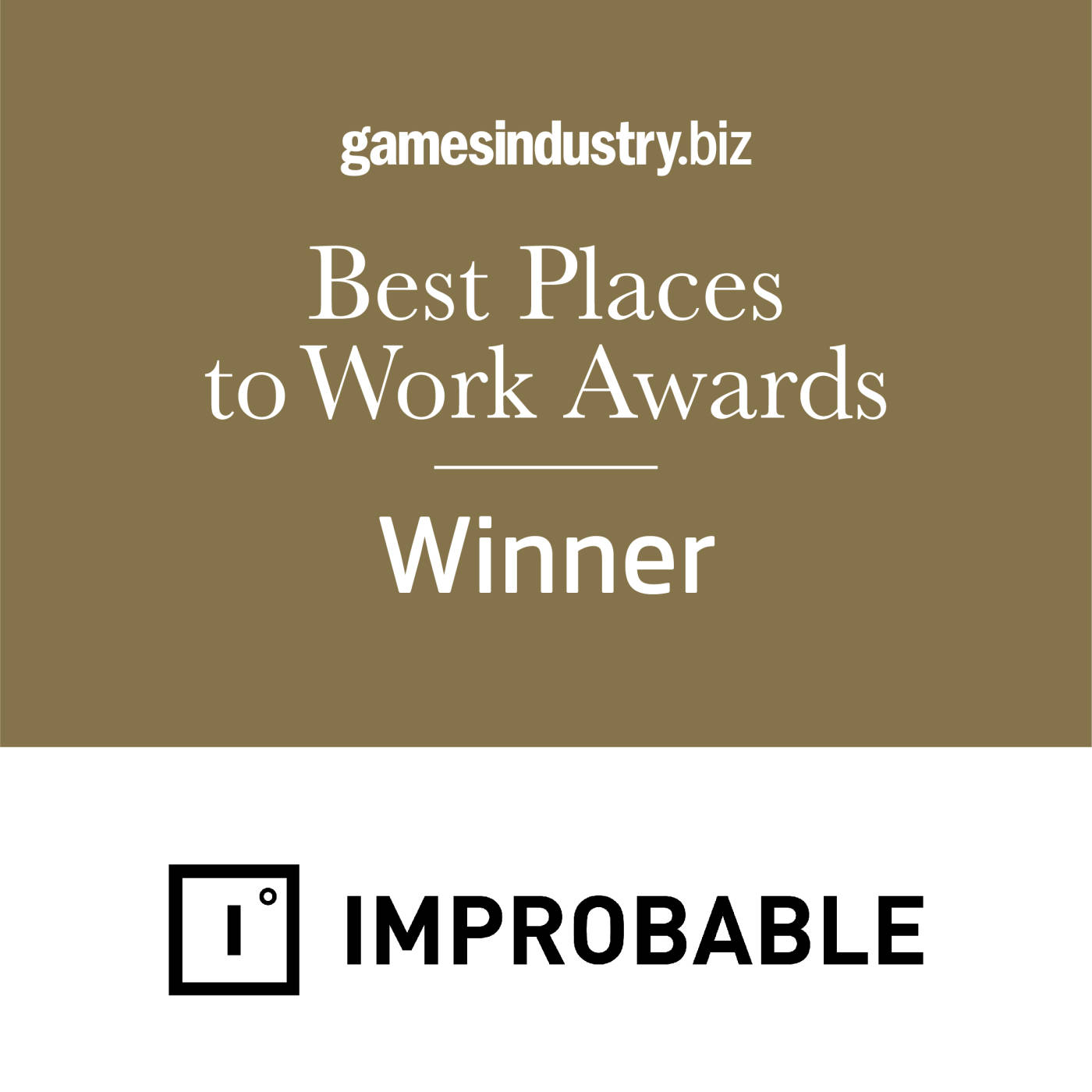 Best Places to Work Awards 2020 Winner