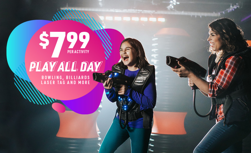 $7.99 Play All Day, per activity
