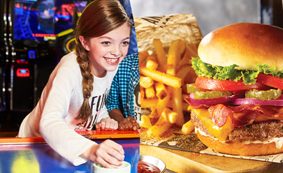 Food & Fun Combo at Main Event