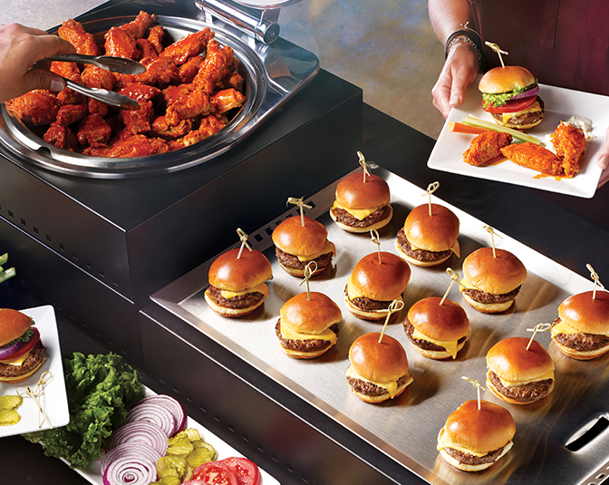 Jumbo Wings & Sliders