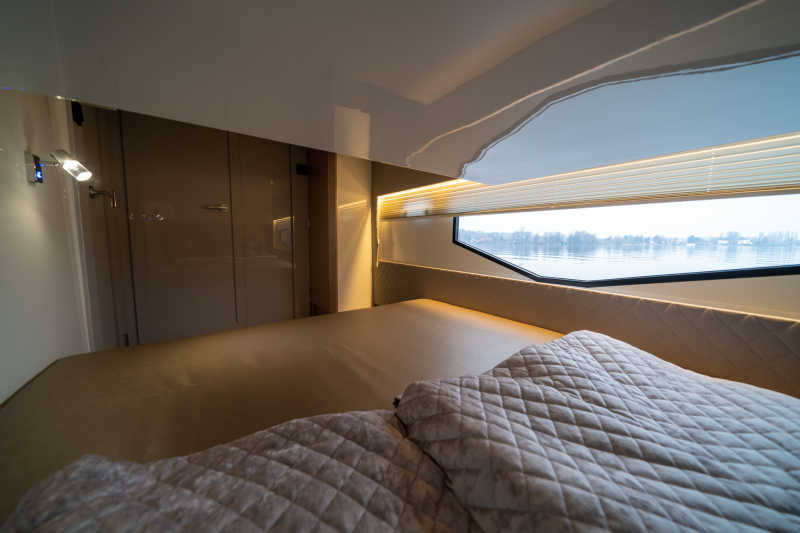 Bedrooms with windows provide a wonderful view when you wake up