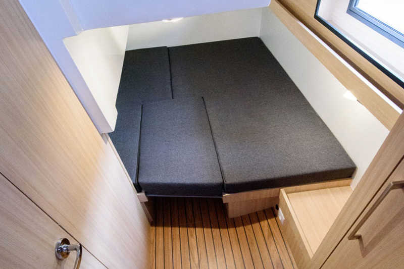 The second bedroom on the yacht Arndt