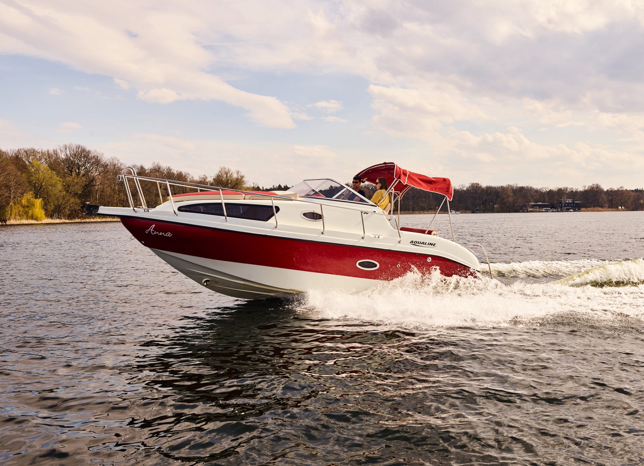 Rent Motorboat Anna With A Boat License Berlin Boat Rental
