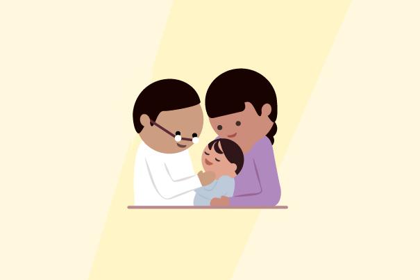 Lesión de dientes del bebe