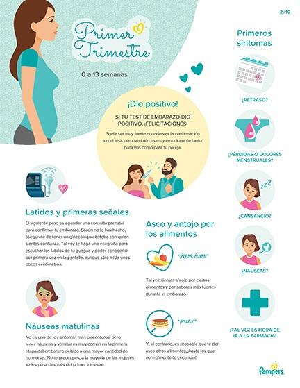 Hitos en el embarazo