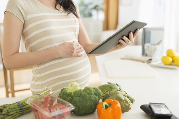 Alimentación en el embarazo: Comer por dos